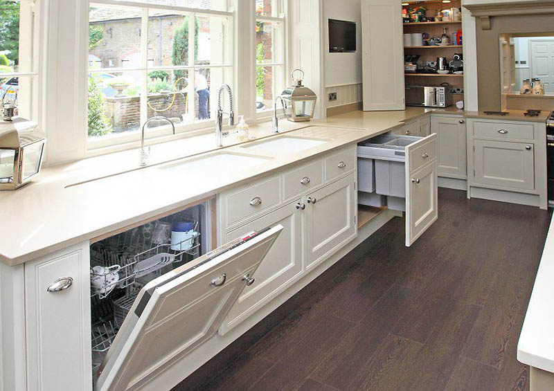 contemporary cream kitchen ryburn valley furniture